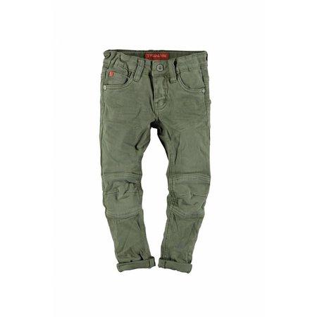 TYGO&vito TYGO&vito spijkerbroek fancy stretch twill kneepatches army