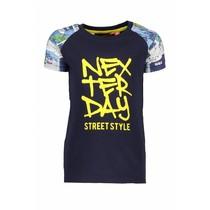 T-shirt strip navy