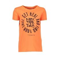 T-shirt neon get real shocking orange