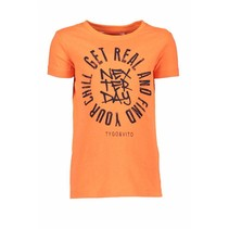 T-shirt neon get real shocking orange
