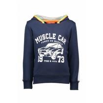 Trui muscle car navy