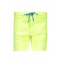 Short garment dye neon yellow
