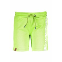 Short with print on side neon yellow