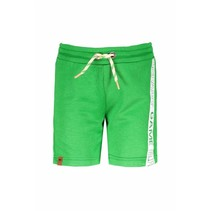 Short with print on side grass green