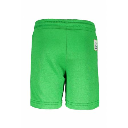 B.Nosy B.Nosy short with print on side grass green