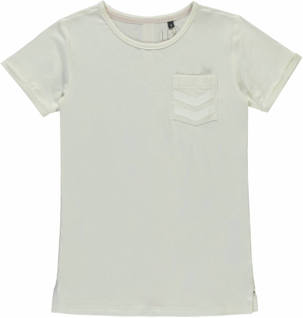 Levv Levv T-shirt Birdy off white