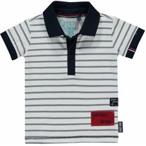 Polo Rintje navy stripe