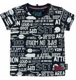 Quapi Quapi T-shirt Ricardo white text all over