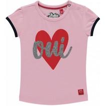 T-shirt Romana rose pink