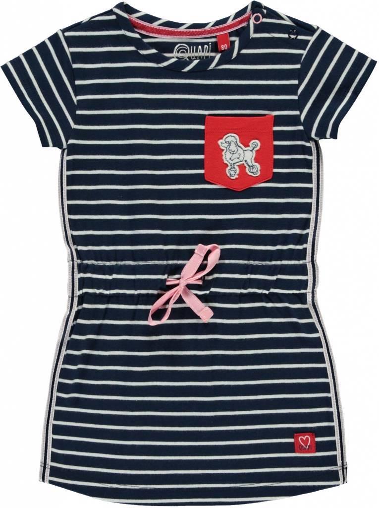 Quapi Quapi jurkje Riva navy stripe