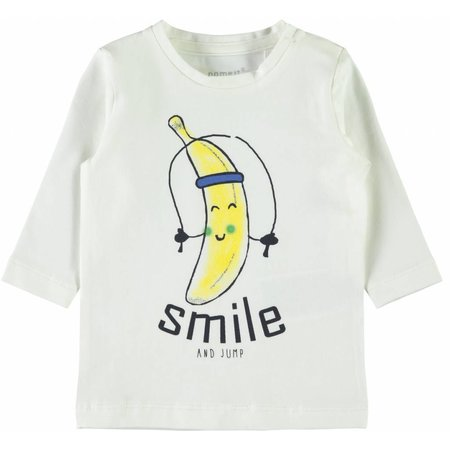 Name It Name It longsleeve Demal snow white