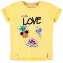 T-shirt Defood pale marigold