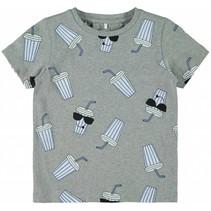 T-shirt Darasmus grey melange