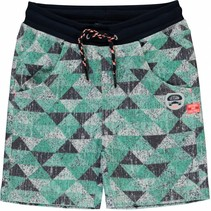 Short Siem ocean green triangle