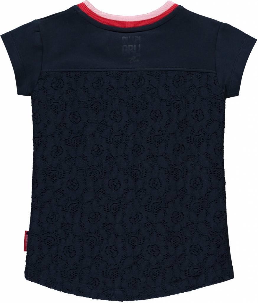 Mensjes Quapi Shirt Simona T NavyHippe JK1lcF