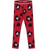 Quapi Quapi legging Shelley rouge red leopard