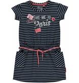Quapi Quapi jurk Samira navy stripe