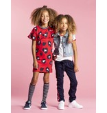Quapi Quapi jurk Sabrina rouge red leopard
