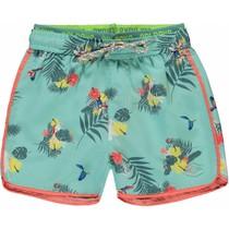 Zwem short Sev soft mint botanic