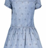 B.Nosy B.Nosy jurk star print with zipper denim