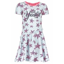 Jurk star with slanted skirt part skydelight pink panther stars ao