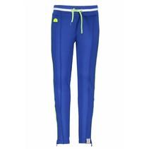 Broek sportive with zipper royal blue