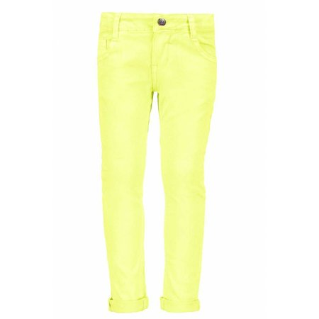 B.Nosy B.Nosy broek with sequinces back pocket electric yellow