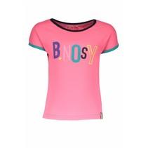 T-shirt with multi color artwork bubblegum