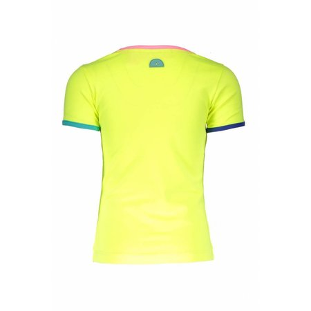 B.Nosy B.Nosy T-shirt b.ready electric yellow