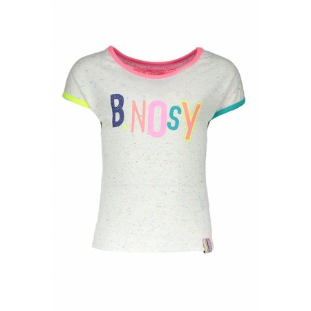B.Nosy B.Nosy T-shirt rainbow melee with color artwork