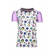 T-shirt multi color panther with rib neck ao sprinkle