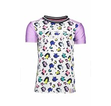 B.Nosy T-shirt multi color panther with rib neck ao sprinkle