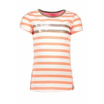 T-shirt stripe with sequinces rows multicolor