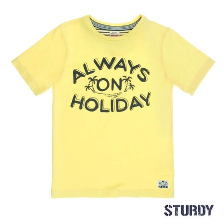 Sturdy Sturdy T-shirt always sunray geel