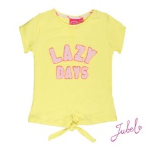 T-shirt lazy days la isla geel