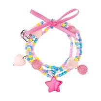 Armband Karina, zeester roze