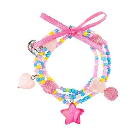 Souza Souza armband Karina, zeester roze