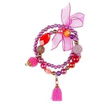 Souza armband Lexi, paars-rood