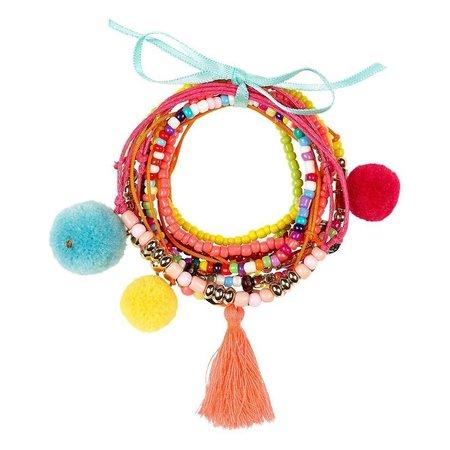 Souza Souza armband Fanny, multi-kleur (10 stuks)