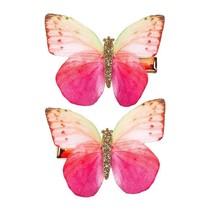 Haar clip Stance, vlinder (2 stuks)