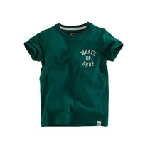 T-shirt Mason bottle green