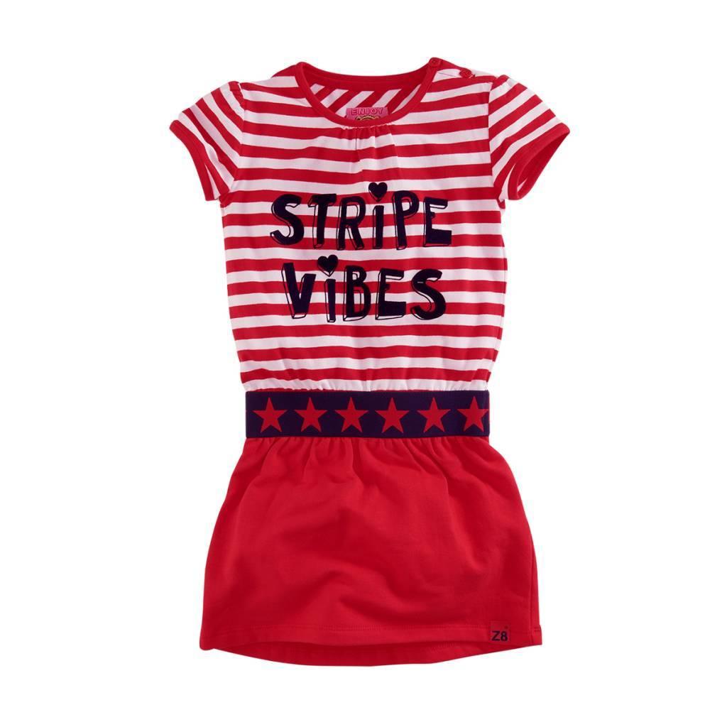 Z8 Z8 jurk Yara stripe vibes