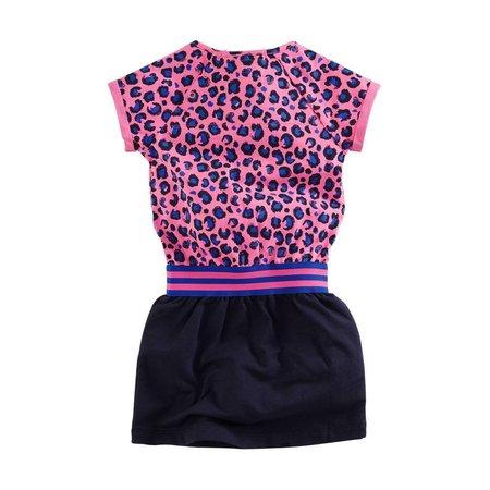 Z8 Z8 jurk Leonie leopard dessin