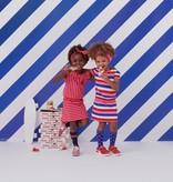 Z8 Z8 jurk Milou stripes