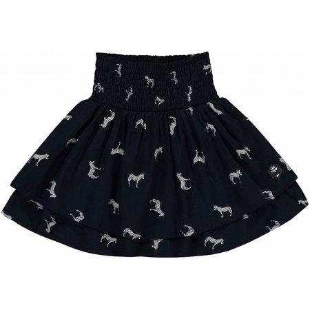Quapi Quapi rok Sanne navy zebra
