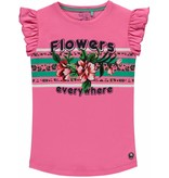 Quapi Quapi T-shirt Stephanie bright pink