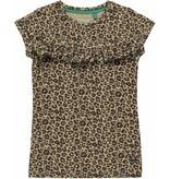 Quapi Quapi T-shirt Sylvie leopard