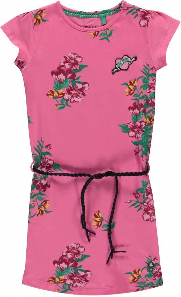 Quapi Quapi jurkje Stella bright pink flower