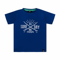 T-shirt surf all day blue