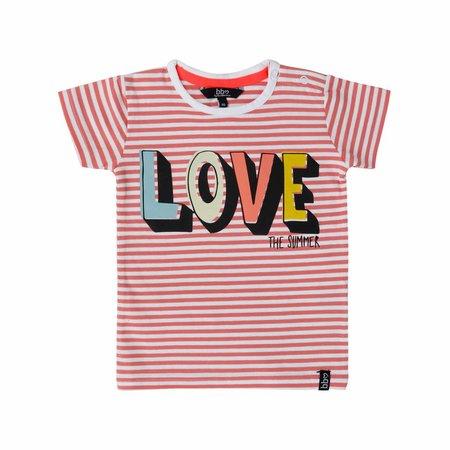 Beebielove Beebielove T-shirt love coral